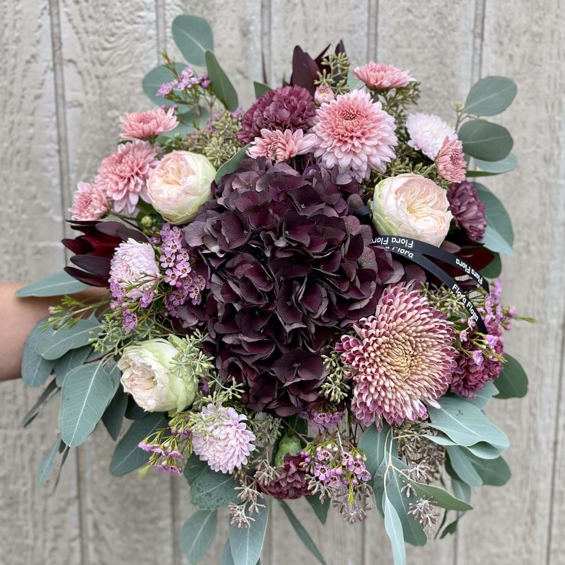 Billede af blomsterbuket